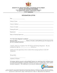 Management Resignation Letter Free Professional Resignation Letter Template Templates At