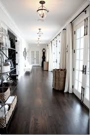 Dark wood floors Oak Design Chic Dark Hardwood Floors Love The Dark Hardwood Floors Pinterest Dark Hardwood Floors Decorative Details Flooring Dark Wood