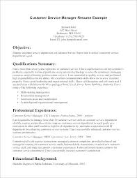 Resume Objective Samples Customer Service Sample Customer Service Supervisor Resume