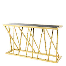 gold console table. Gold Console Table | Eichholtz Cristiano #1 Online Retail