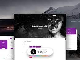nextjs material kit pro premium nextjs