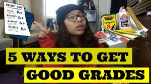 5 ways to get good grades mondays 5 ways to get good grades mondays