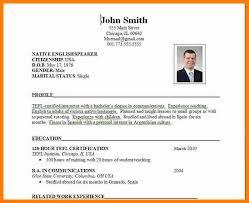 8 Cv Sample For Job Application Theorynpractice