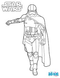 Capitain Phasma Star Wars Coloring Pages Hellokids Com With