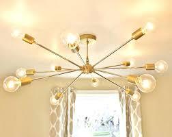 sputnik style chandelier the modern brass sputnik chandelier