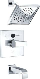 delta bath shower faucets angular modern tub and shower faucet trim with technology delta tub shower