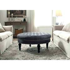 grey tufted storage bench. Grey Tufted Storage Bench Ottoman Tray Ottomans Round Velvet Wood Medium . O