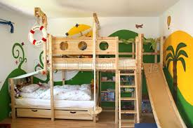 cool kids beds with slide. Contemporary Kids Bunk Bed Laterally Staggered In Cool Kids Beds With Slide L