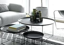 nested coffee table charcoal nesting coffee table set
