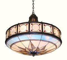 compass chandelier