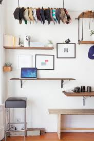 diy floating desk diy home. Ergonomic-stool-Home-Office-Eclectic-with-bar-stool-Craftsman-DIY-floating- Desk-floating-shelves-hat Diy Floating Desk Home