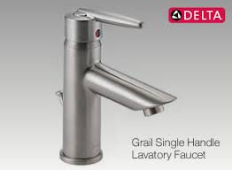 delta fixtures bathroom. The Grail Single Handle Faucet Is An Example Of Quality Faucets Available From Delta Fixtures Bathroom