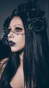 adorable gothic vire makeup ideas for party 27