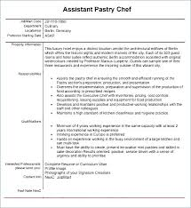 Executive Chef Resume Template Inspiration Cook Sample Resume Qualifications For Pastry Chef Pastry Chef Resume