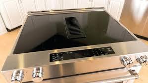 kitchenaid slide in stove downdraft vent quick cooking make for an impressive oven kitchenaid slide in