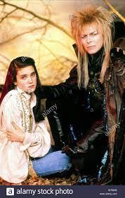 JENNIFER CONNELLY, David Bowie, Labyrinth, 1986 Stockfotografie - Alamy