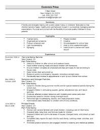 Nanny Resume Example Nanny Resume Examples Sample Of Nanny Resume ...