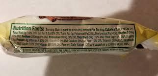 belvita pumpkin e breakfast biscuits nutrition facts