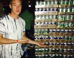 diplo beer wall