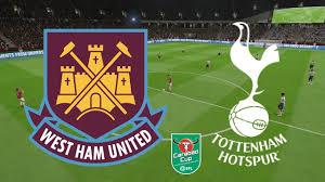 Carabao Cup 2019 - West Ham Vs Tottenham - 31/10/18 - FIFA 19 - YouTube