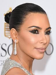 kim kardashian ces makeup by mario
