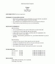Sample Functional Resume Format Gentileforda Com