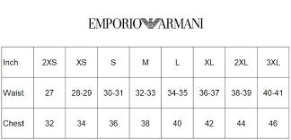 Emporio Armani Size Chart Emporio Armani Basic Trunk Underwear Turkey 8p715 111357