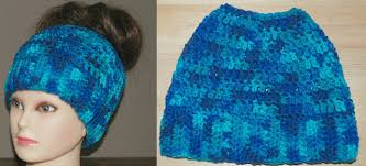 Crochet Bun Hat Free Pattern New Messy Bun Crochet Hat Free Patterns Crafty Tutorials