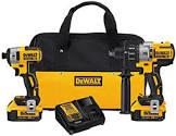 Dewalt DCK299M2 20V MAX XR Lithium Ion Brushless Premium Hammer Drill and Impact Driver Combo Kit
