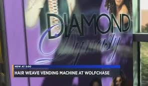Hair Vending Machine Stunning Vending Machine For Weaves Arrives Memphis Now Officially A World