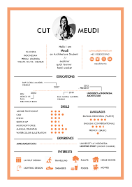 Architecture Student Resume Sample CV by Cut Meudi an Architecture Student from University of 2
