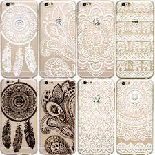 Dream Catcher Case Iphone 7 Plus HENNA Dream Catcher Elephant Mandala Clear Phone Case iPhone 100 57