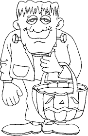 Small Picture Halloween Printable Coloring Pages Fun for Halloween