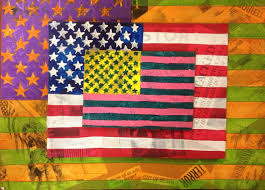 jasper johns inspired mixed a project students collages 9 11 words and images onto