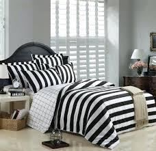 black and white stripe duvet black and white striped duvet cover bedding sets black and white