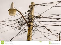 electrical wiring stock image image of utilities, tangled 42174145 electrical wiring diagrams at Electrical Wiring