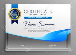 Certificate Of Appreciate Modern Certificate Of Appreciate Template
