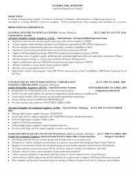 Customer Quality Engineer Sample Resume Quality Engineering Ideas Of Automotive Engineer Sample Resume For 3