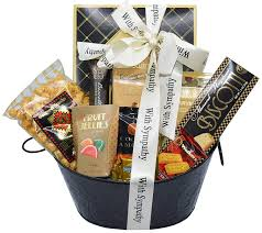 amazon sincere sympathy and condolences gourmet gift basket bereavement gift basket grocery gourmet food