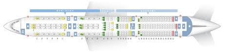 Airbus A350 900 Seating Chart Seat Map Airbus A350 900 Singapore Airlines Best Seats In Plane