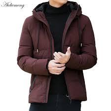 winter jacket men parka fashion hooded jacket jpg