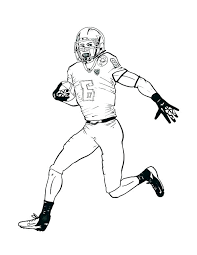 Coloring Pages Football Players Nfl Cheapflowersinfo