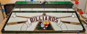 repair billiards pool table lamp