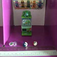 Miniature Vending Machine Classy Pokemon Miniature Capsule Vending Machine Alias Gacha Miniature