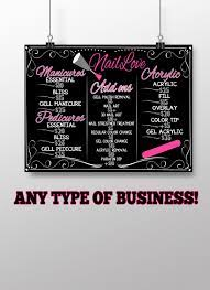 tip toe and nail salon sign page 1