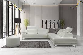 Modern Light Gray Living Room Lighting Living Room Furniture Light Gray Leather Modern
