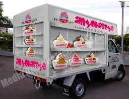 3d Food Truck Design 3d Wrap Design For A Daihatsu Van Car Wrap Car Wrap