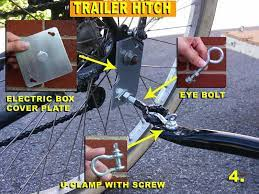 bicycle trailer trailer hitch bicycle