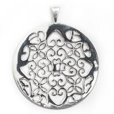 sterling silver charleston plantation gate pendant at gold creations jewelry