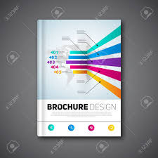 Modern Brochure Design Modern Brochure Design Abstract Brochure Report Template Royalty 7
